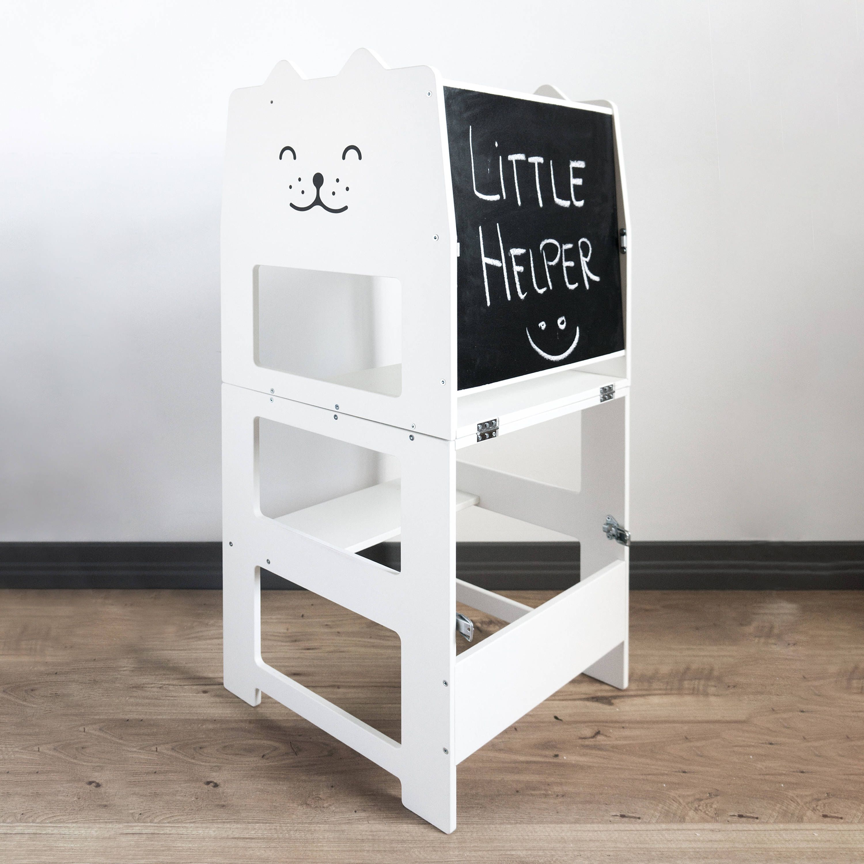 Learning tower for toddler / kitchen tower / convertible step stool ...