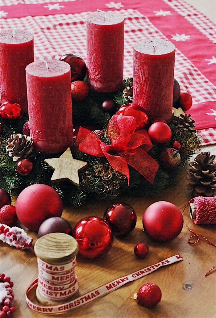 DIY - klassischen Adventskranz selber machen #weihnachtsmarktideenverkauf