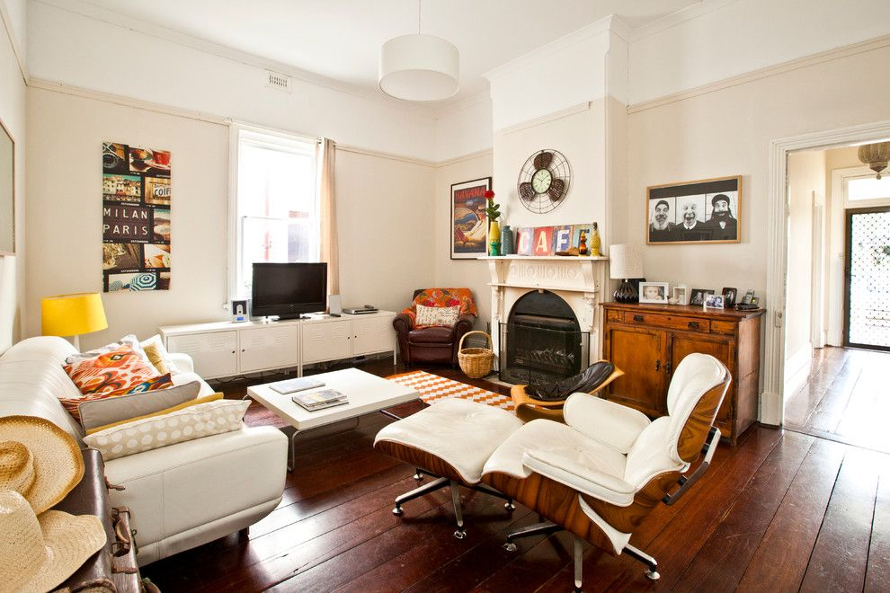 Appealing Leather Lounge Chair home designing tips Eclectic Living ...