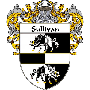 Sullivan Coat of Arms http://irishcoatofarms.org/ has a wide variety of products with your surname with your coat of arms/family crest, flags and national symbols from England, Ireland, Scotland and Wale