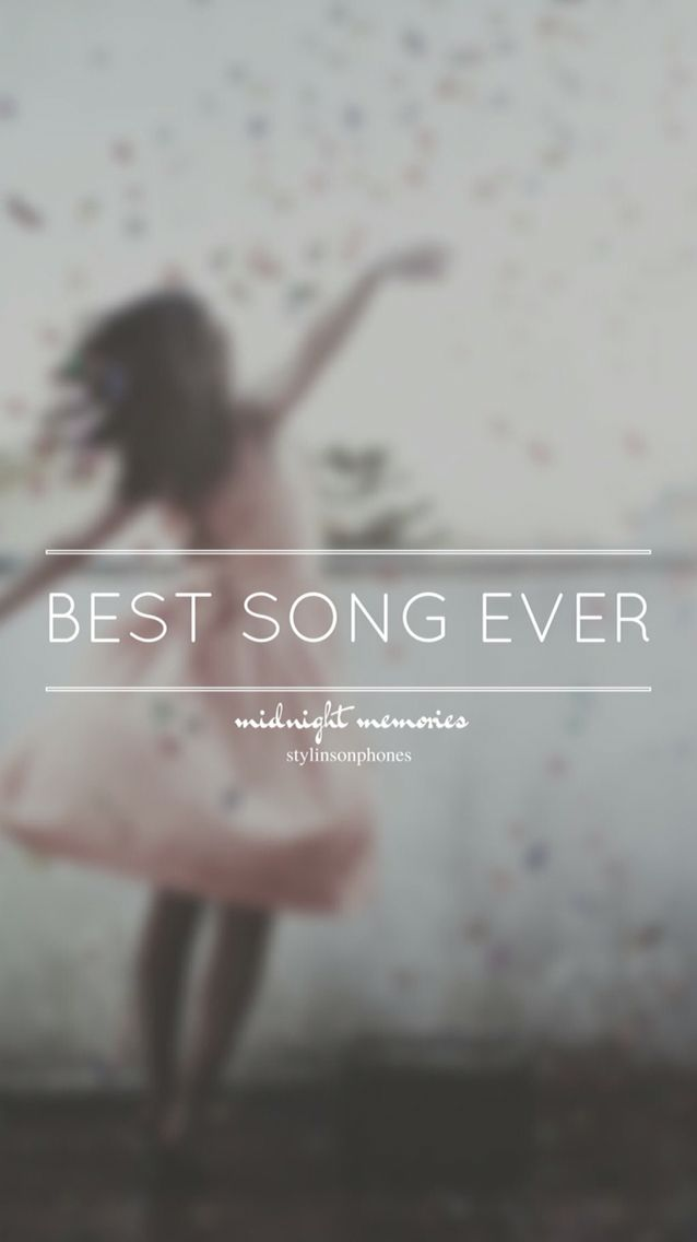 Best Song Ever O Midnight Memories Lockscreen Ctto Stylinsonphones
