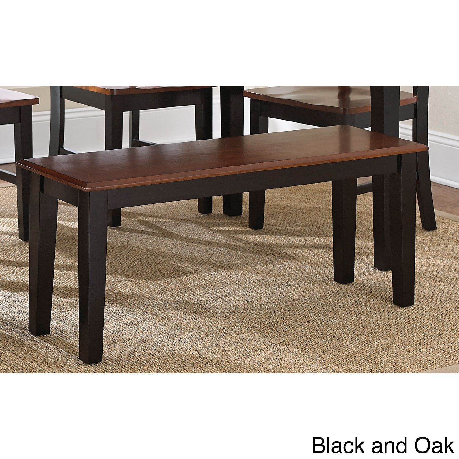 Kitchen Bench Finishes: The Keaton Dining Bench Is Available In An Oak Finish Or A