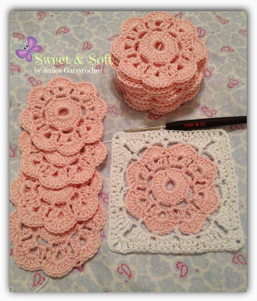 La magia del crochet granny squares crochet tutoriales knit crochet bankloansurffo Images