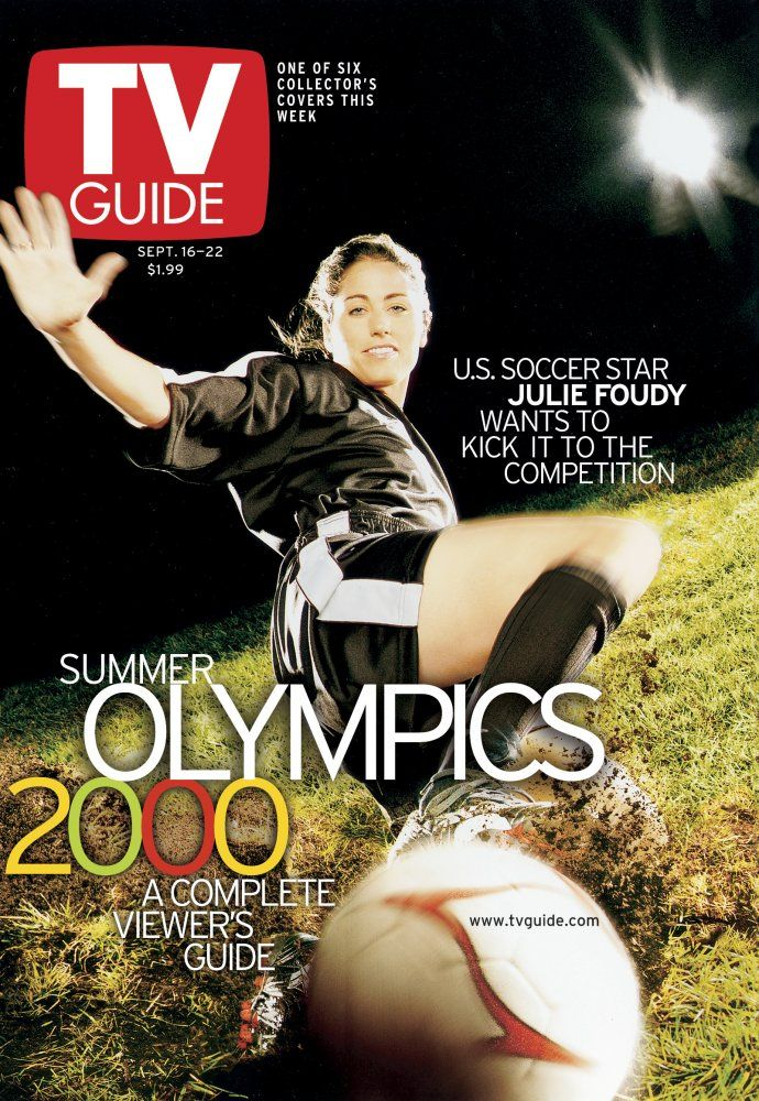 September 16, 2000. Sydney Olympics featuring U.S. soccer
