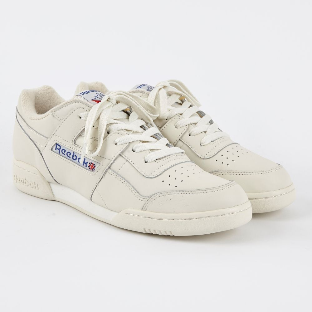 Mens Shoes Reebok Workout Plus ALR White Chalk BS5246