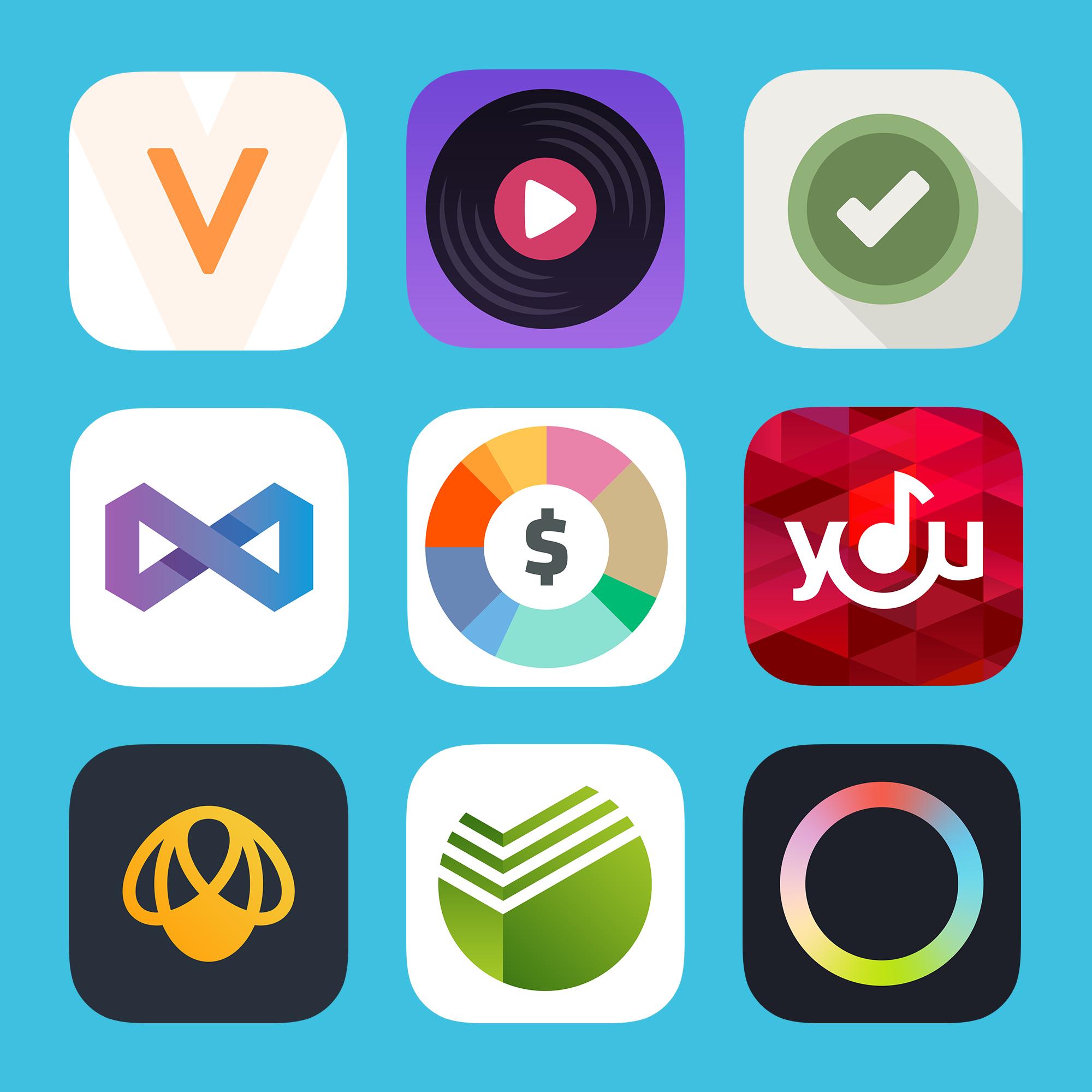Flat Icons iOS7 by Charlie Isslander Custom icons, Flat