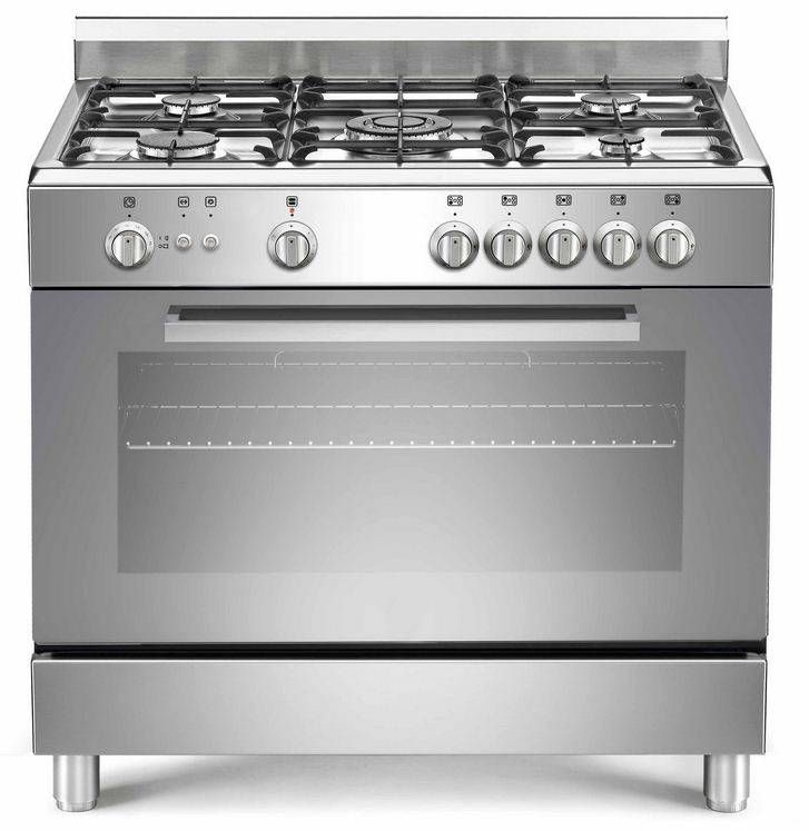 5 Palnikowa Kuchnia Gazowa Wielofunkcyjny Piekarnik Elektryczny Firmy Saro Bardzo Duzy 90 Litrowy Elektryczny Piekarnik Kon Kitchen Appliances Kitchen Oven