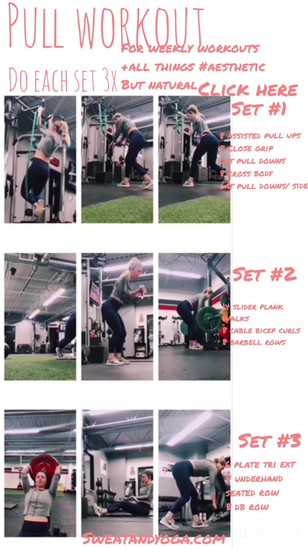 For weekly gym workouts for women and all things #natural and aesthetic click here  .  .  .  .  .  #...