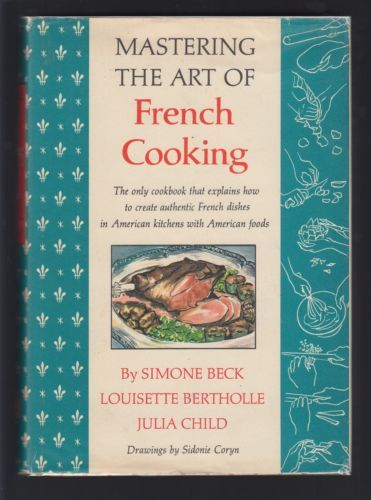 MASTERING-The-ART-of-FRENCH-COOKING-1961-JULIA-CHILD-Signed-1st-EDITION-AUGUST