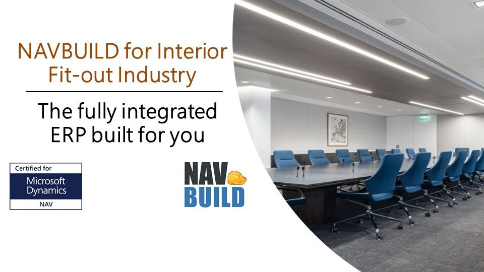 Dynamics NAV for Interior & Fitout Industry End to End