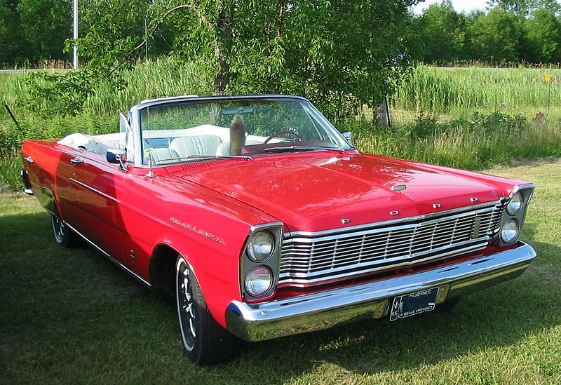 1965 Ford Galaxie 500 Xl Convertible My Second Car 390 4 Speed