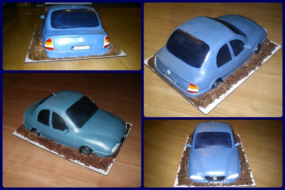 Opel Cake Opel Torta Backen