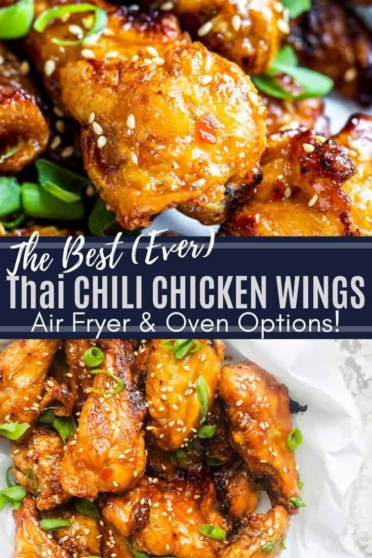 Air Fryer Sweet Chili Chicken Wings