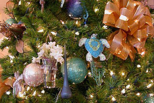 Beach Club Resort Ornaments 2 Coastal Christmas Beach Christmas