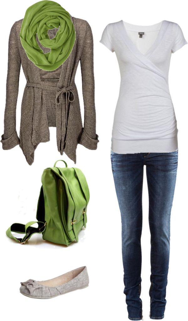"""Green"" by ataleekaye on Polyvore"