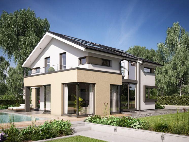 Design-Haus mit Satteldach - Einfamilienhaus Concept-M 166 Bien - bien zenker haus