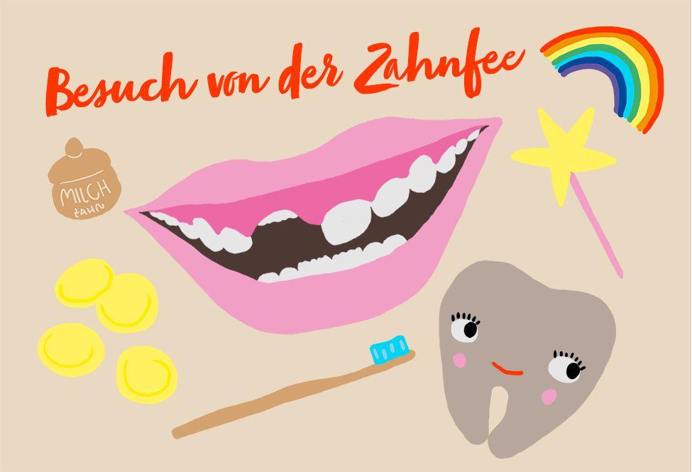 Juchhu Die Zahnfee Kommt Zu Uns Zahnfee Pappkarton Und Kinder Spielzeug