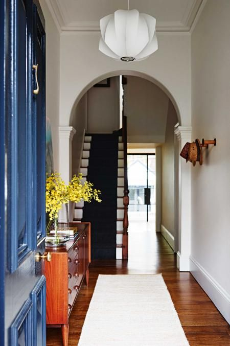 Entry Hallway Runner June15 Victorian Terrace House Tours Home