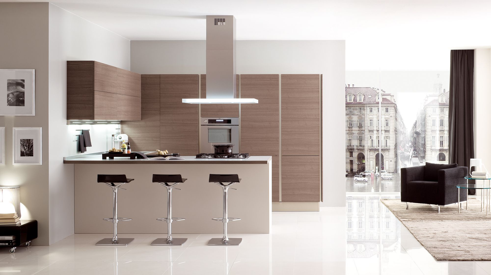 Veneta Cucine - Modern Kitchen Cabinets - Oyster Decor | Kitchen ...