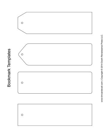 Printable Bookmark Templates For Students Who Want To Draw Or Decorate Their Own Bookmark Template Free Printable Bookmarks Free Printable Bookmarks Templates