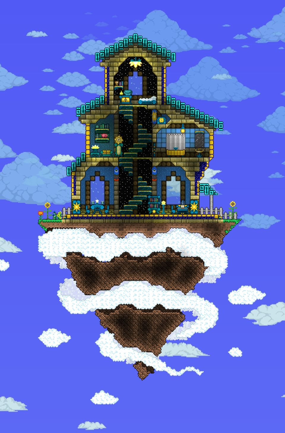 Pin By Annabelle Marcovici On Terraria Terraria House
