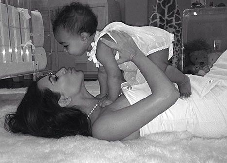 Kim Kardashian Shares Precious Photo With North For Mother's Day: Pics - Us Weekly