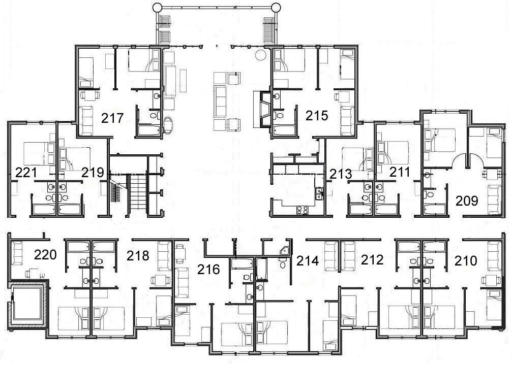 Secondfloora Jpg 1007 719 Floor Plans Lodge How To Plan