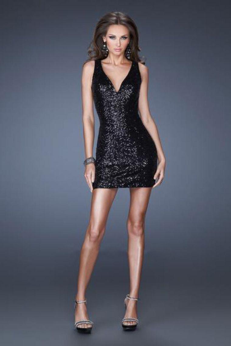 black halter dress short - Dress Yp