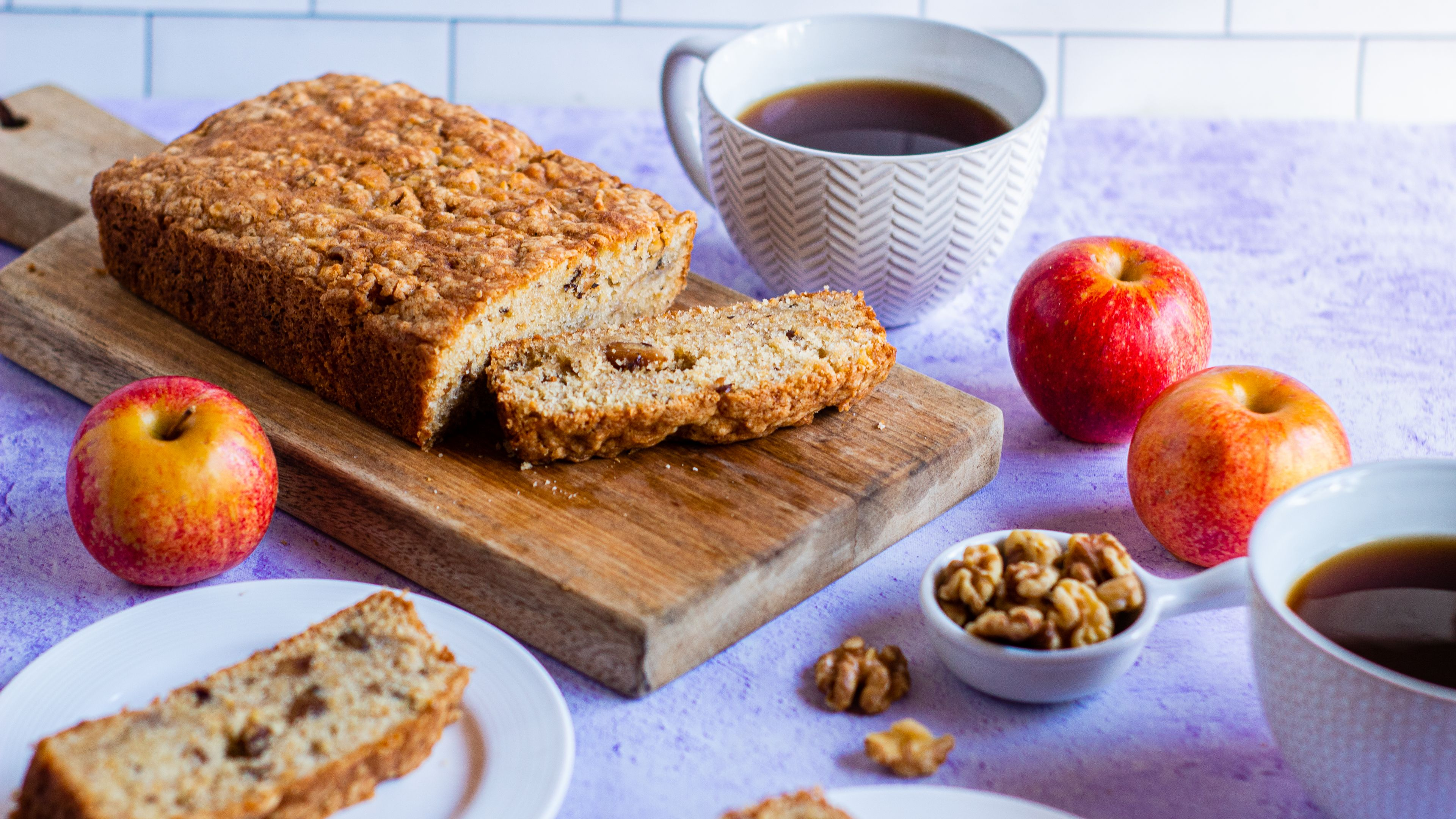 Sour Cream Apple Cardamom Quick Bread Recipe Food Com Recipe Quick Bread Recipes Recipes Quick Bread