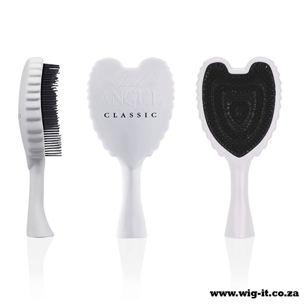 The Tangle Angel Detangling Brush in a stunning angel design with flexible detangling bristles to banish knots and leave your hair soft, smooth and manageable. houseofscissors‬ ‪#‎wigitcoza‬ ‪#‎detanglerbrush‬ ‪#‎brush‬ ‪#‎angelbrush‬ ‪#‎TangleAngelDetanglingBrush‬ #wigdfs #wigsgp