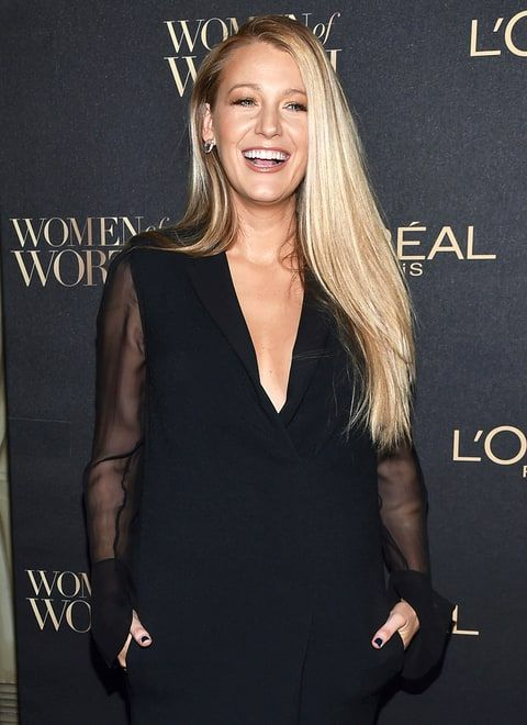 How To Get Blake Livelys Perfectly Straight But Still Voluminous
