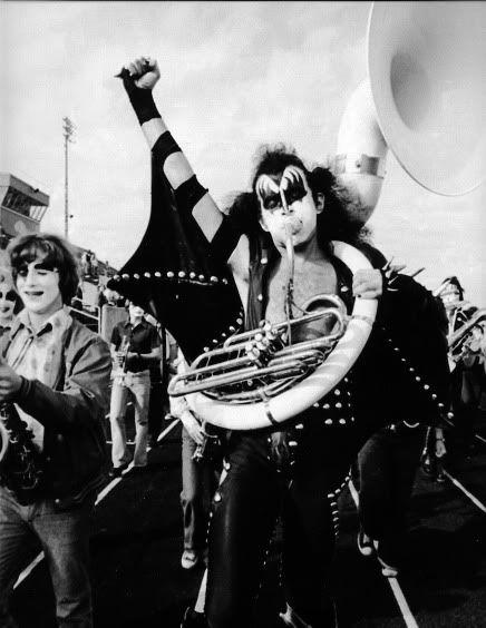 — KISS, Cadillac High, Michigan (1975)