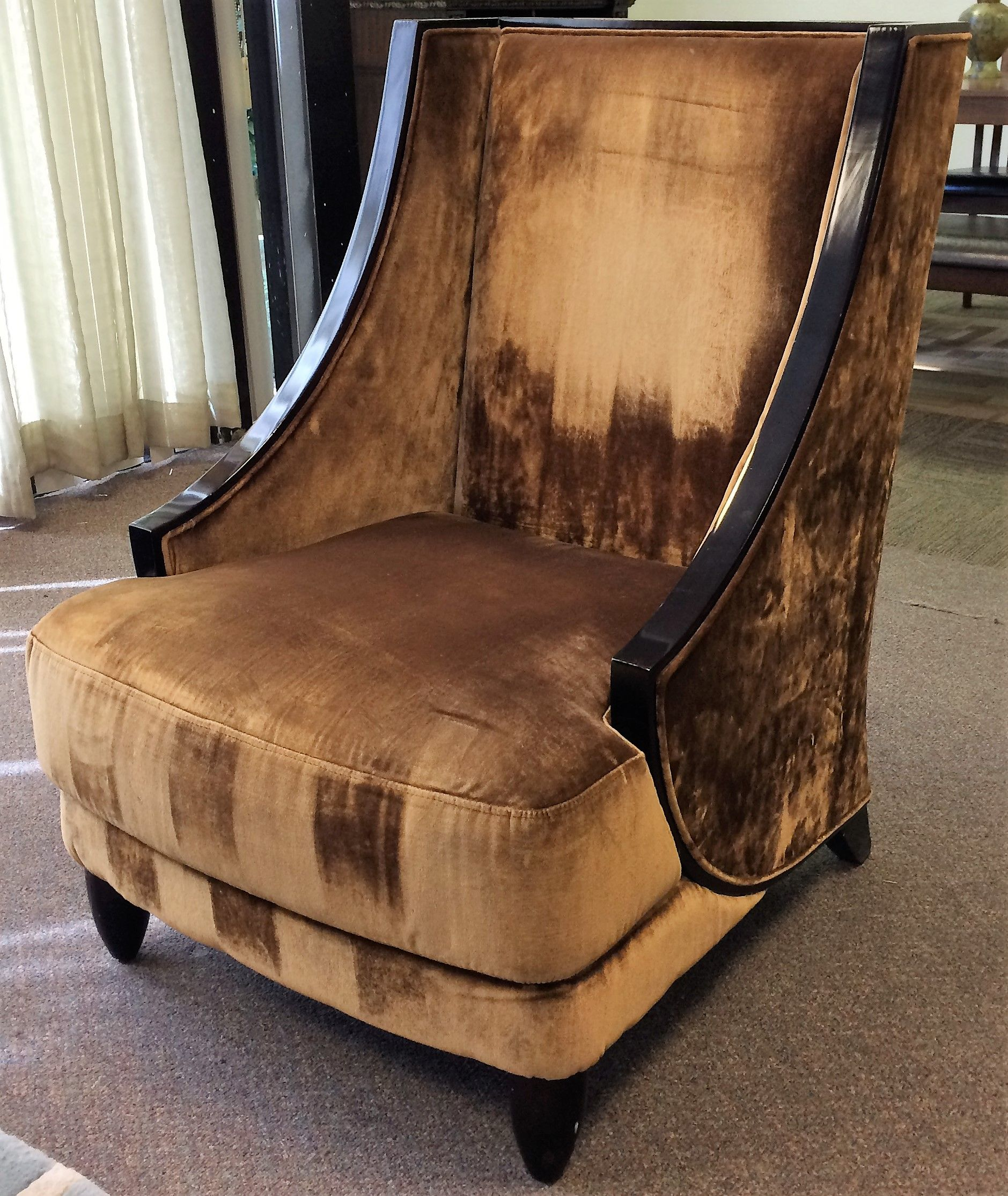 The Liquidators Elegant High Back Accent Chair From The Palazzo