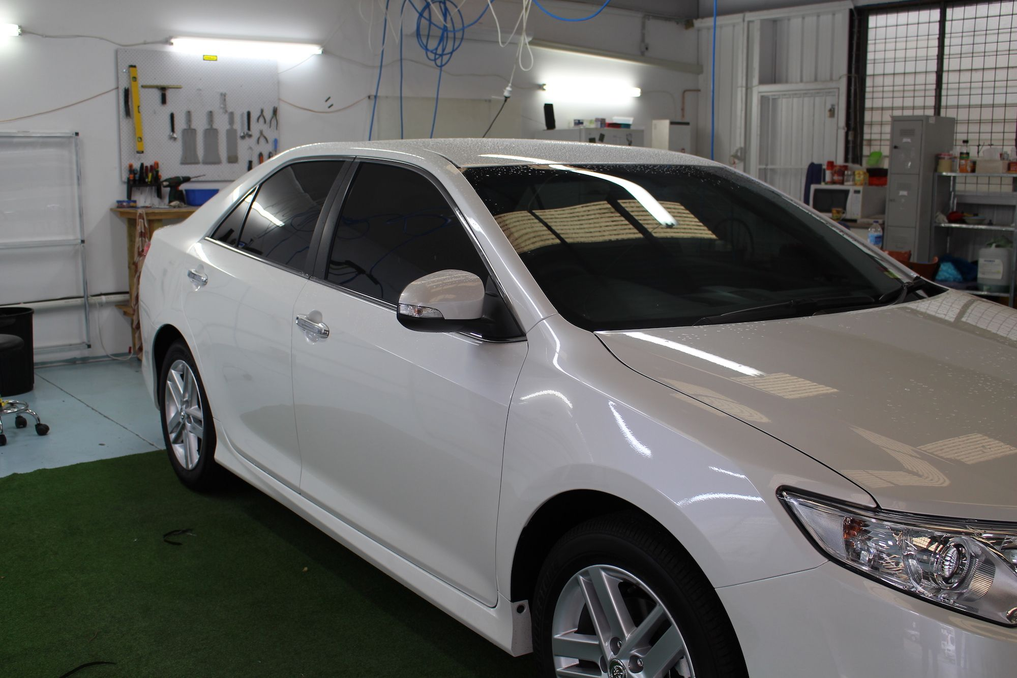 Privacy Tint Our Darkest Legal For Private Vehicles In 2012 Ford Focus Tinted Windows Queensland