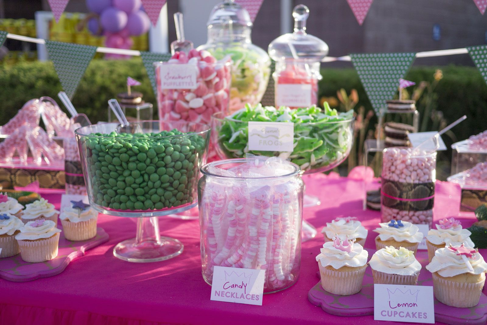 Kids Candy Birthday Sweet Table | Sweets Table displays ...