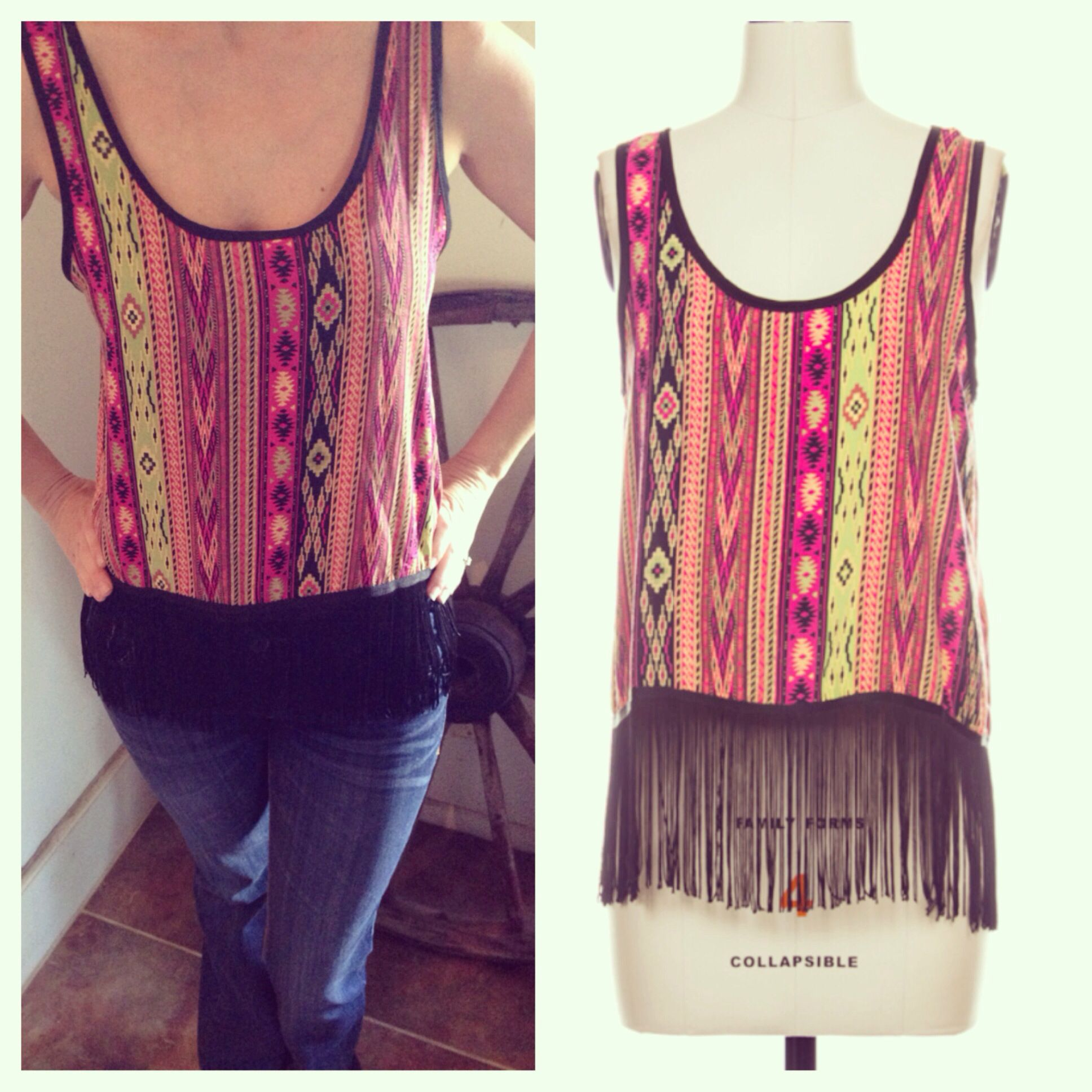 Super cute top!! Go to Instagram or Facebook and find it @pureandwicked