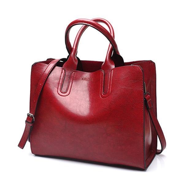 b71e73563dd6 Composite Leather Handbags Big Women Bag High Quality Casual Female Bags  Trunk Tote S Shoulder Bag