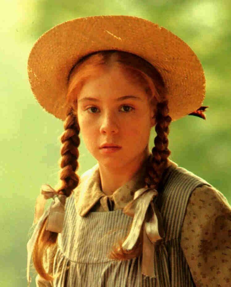 Famous Fictional Female Red Heads Green Gables Anna Zo Zeleneho