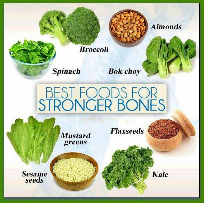 Food for bones food with lots of calcium! Food for
