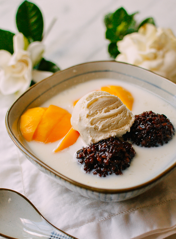 Black Sticky Rice Mango Dessert | The Woks of Life