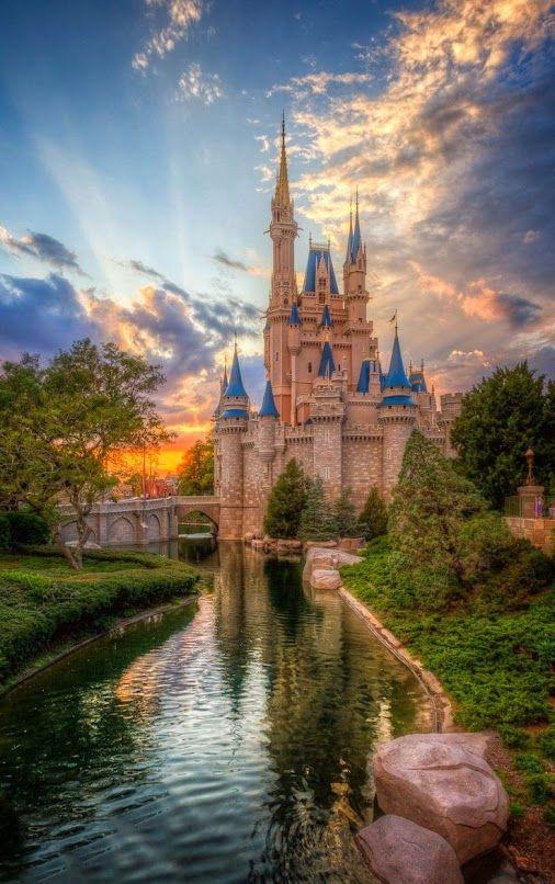 Cinderella Castle Sunset by Jack Crouse