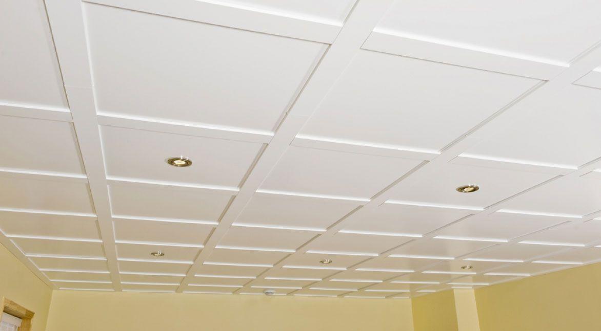 Faux-plafond en bois   en dalle   décoratif ENCORE MUR design