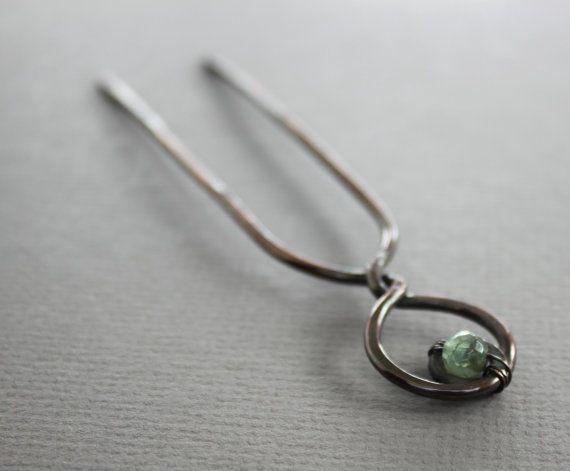 This hair fork pin hand forged with 12 gauge solid copper wire and this hair fork pin hand forged with 12 gauge solid copper wire and embellished with faceted aquamarone blue agate stone 6mm in diameter attentio keyboard keysfo Images
