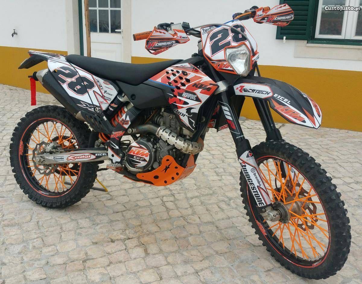 Ktm 450 excr matriculada arranque eléctrico - à venda - Motos & Scooters,  Leiria -