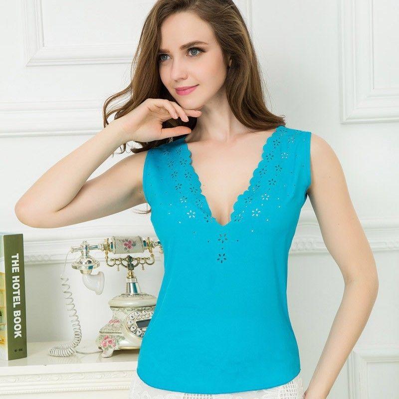 2015 marca sml XL XXL XXXL Color 12 diseño para mujer Solid camisa de la blusa…