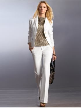 Womens White Suit Jacket