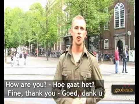 Amsterdam Travel - Basic Dutch Phrases