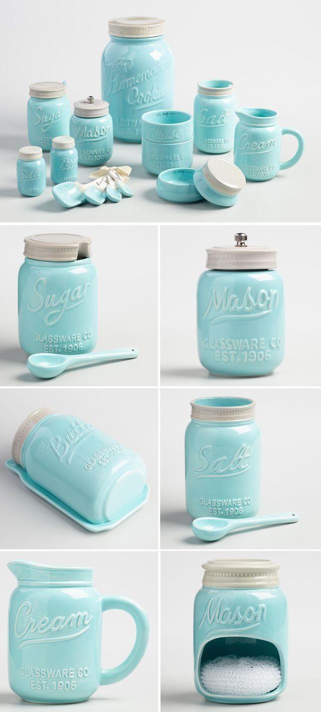 Pin by Amanda Bull on declutter/organize   Pinterest   Jar, Kitchens ...