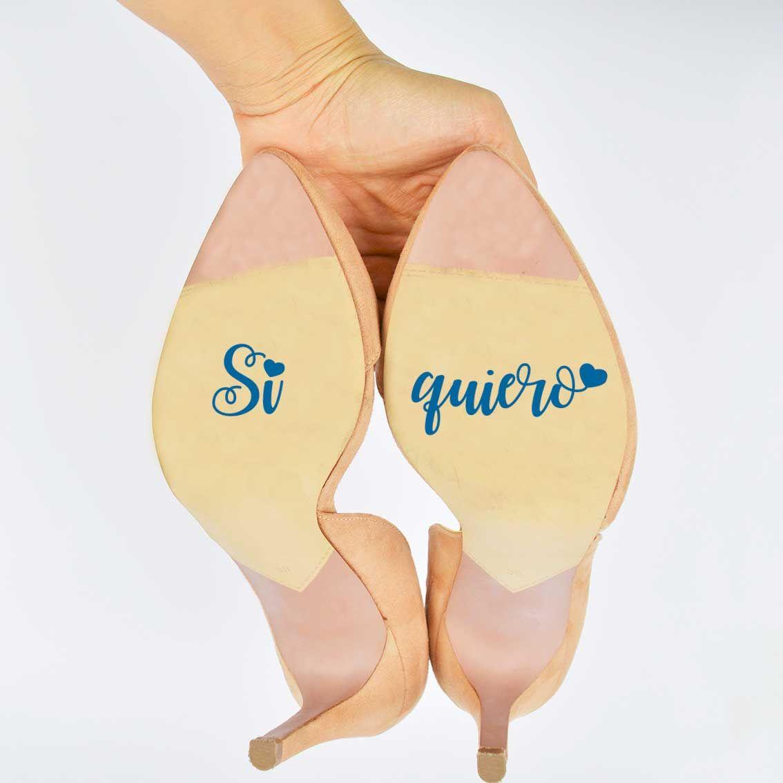 Regalo Pegatinas Novia Disney Zapatos Boda EqaxAnH