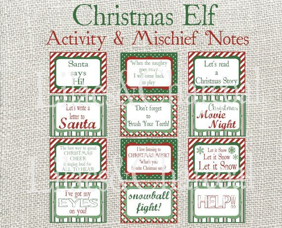 picture relating to Elf on the Shelf Printable Notes identified as 40 Enjoyment Innovative Xmas Elf Upon The Shelf Printables